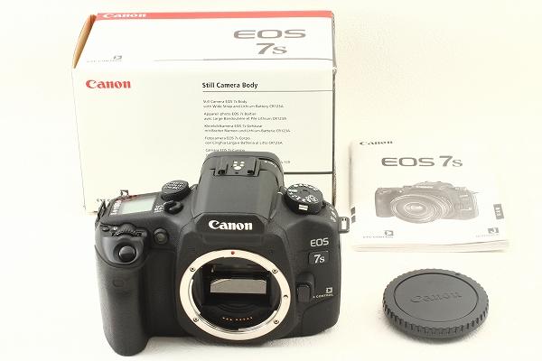 CANON キヤノン EOS 7Sの買取価格