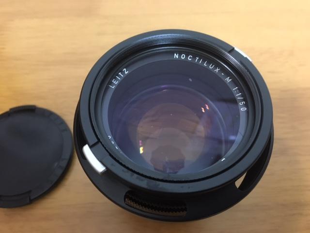 LEITZ NOCTILUX-M 1:1/50 E60の出張買取