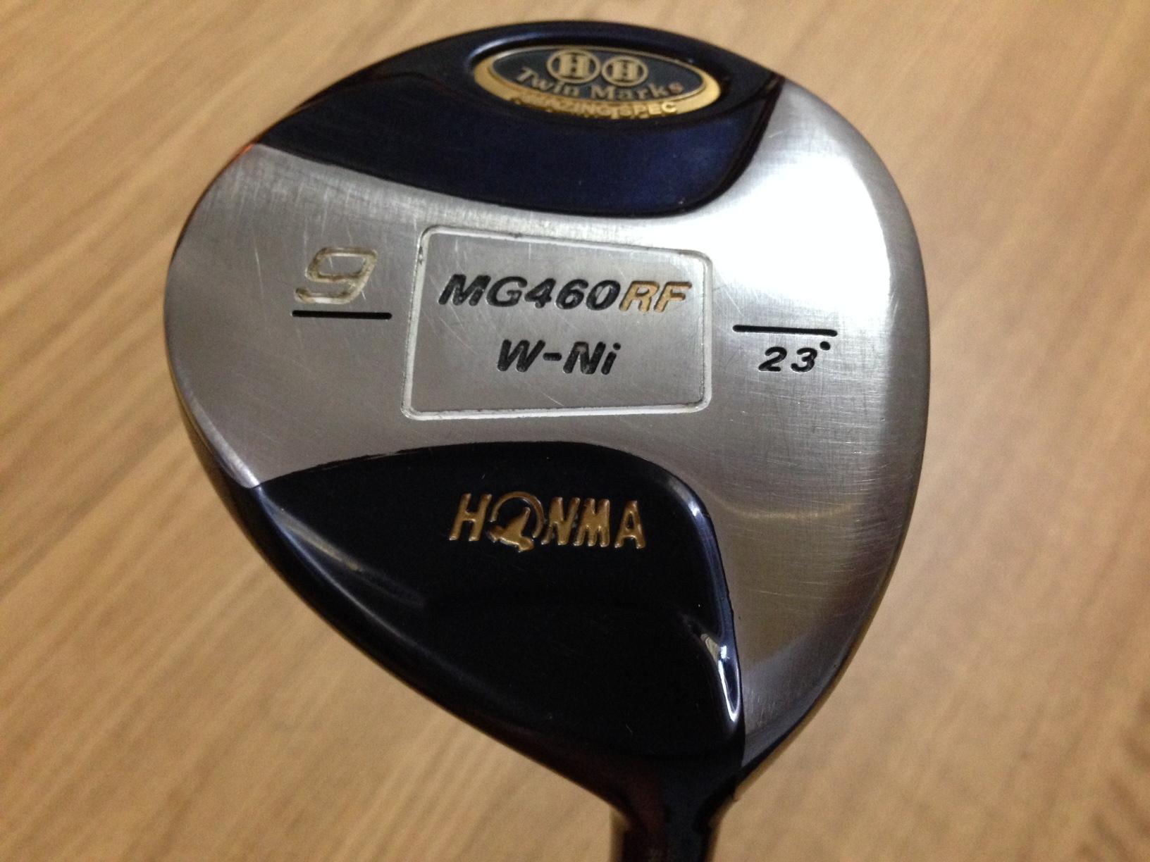 HONMA製 Twin Marks MG460 RF W-Ni 23° ARMRQ 851 純正カバー付き