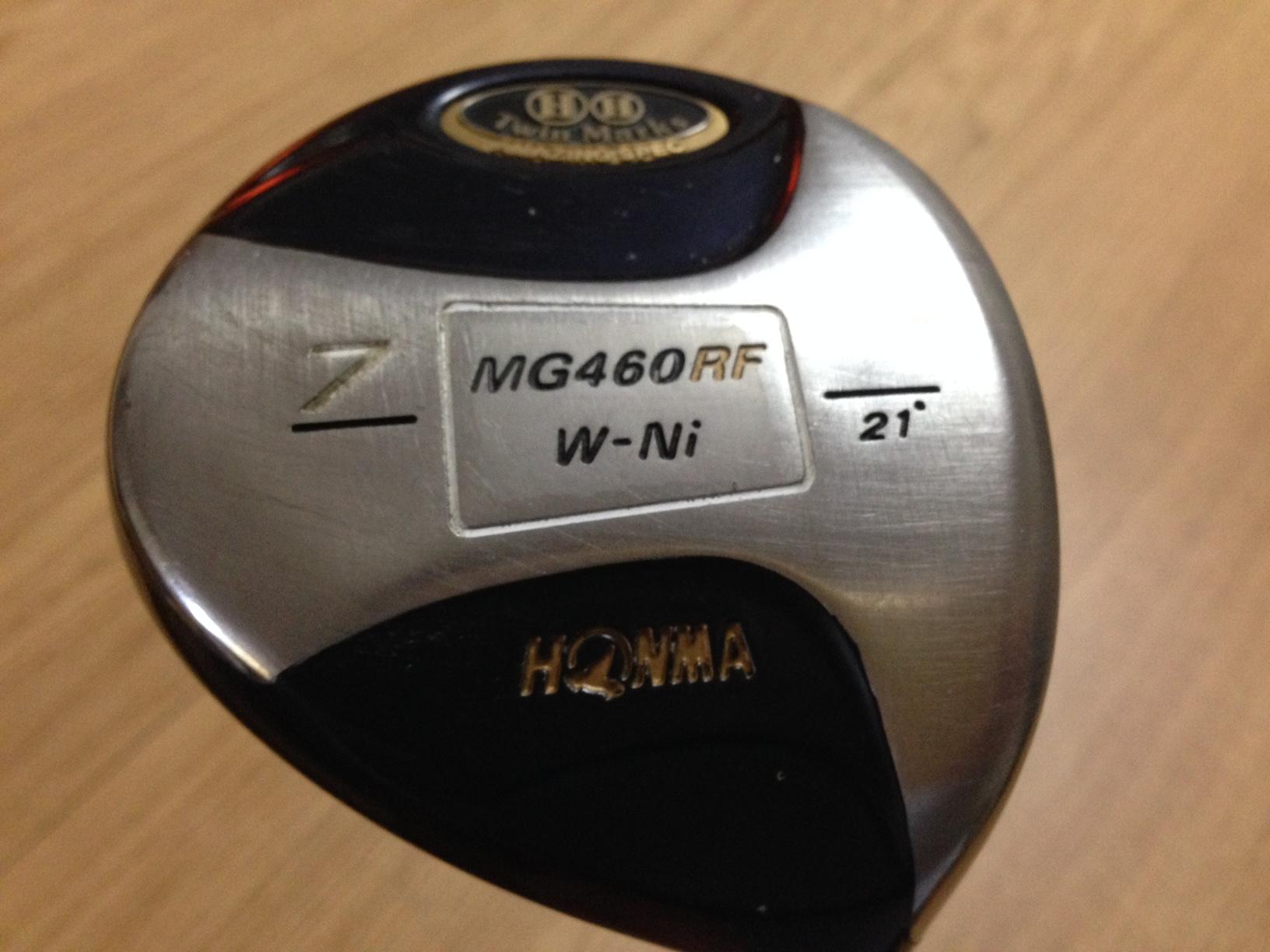 HONMA製 Twin Marks MG460 RF W-Ni 21° ARMRQ 851 純正カバー付き