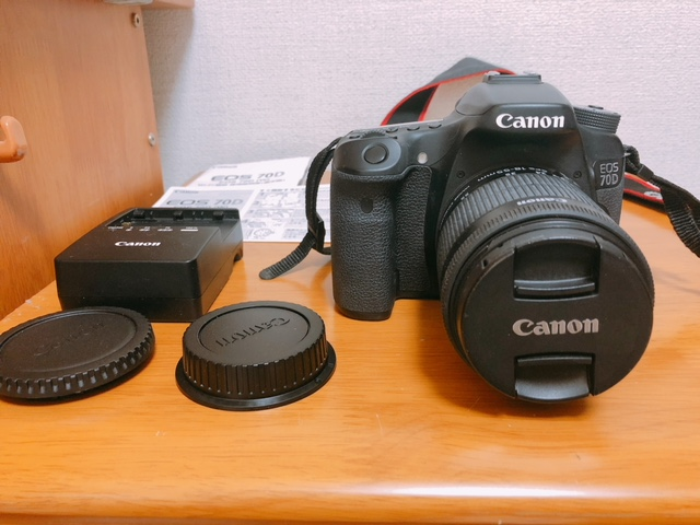 Canon EOS 70D ZOOMレンズセット